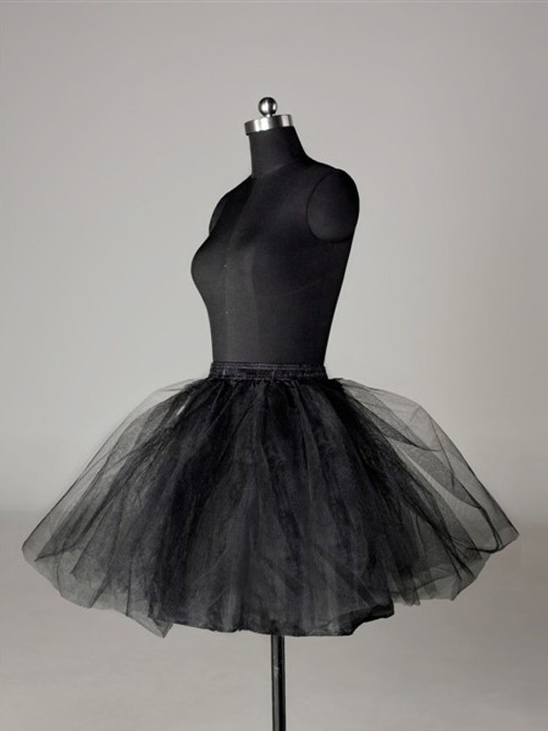 New Tulle Netting Ball-Gown 2 Tier Short Length Special Occasion Petticoat