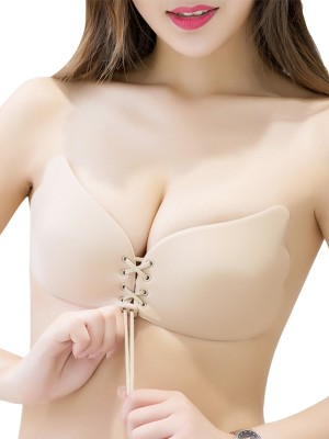 Discount Silicone 3/4 Cup Strapless Invisible Bra
