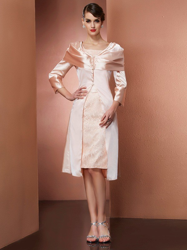 Chic Elastic Woven Satin Long Sleeves Special Occasion Wrap