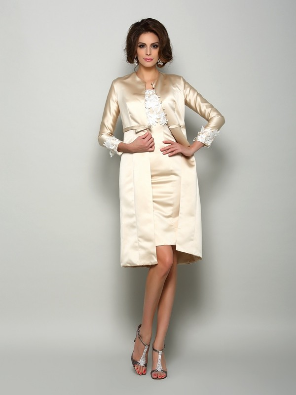 Chic Satin Long Sleeves Special Occasion Wrap
