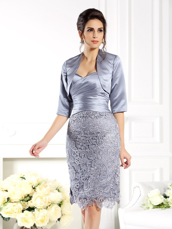 Chic 1/2 Sleeves Satin Special Occasion Wrap