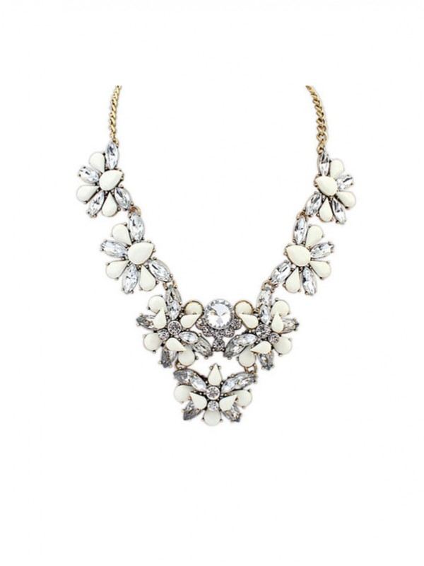 Gorgeous Occident Geometry All-match Popular Necklace