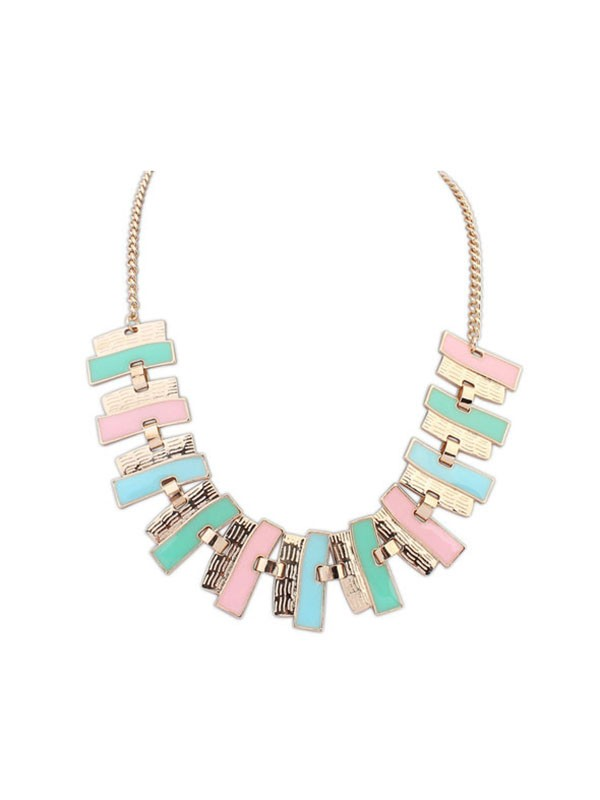 Gorgeous Occident New Geometry Necklace