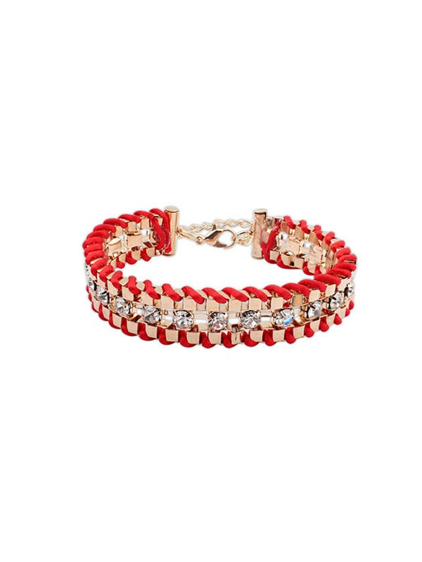 Gorgeous Occident Ethnic Customs Woven Bracelet