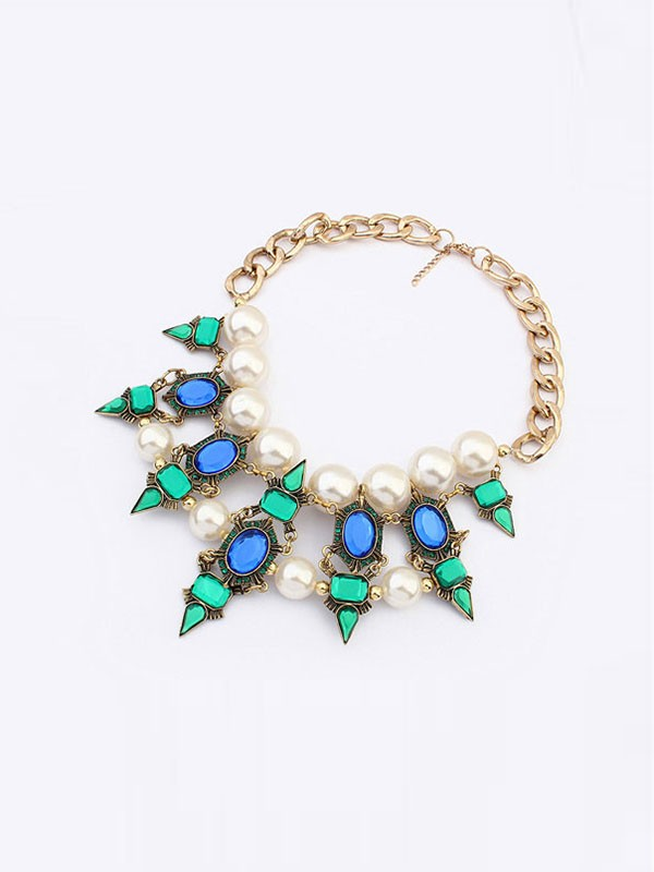 Gorgeous Occident Celebrity Street Shooting Necklace