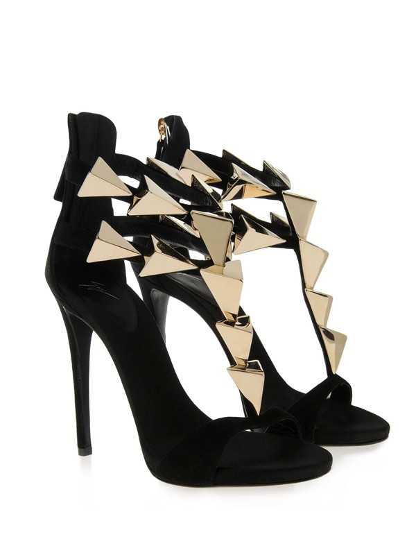 Hot Sale Women Stiletto Heel Suede Peep Toe Platform Buckle Sandals Shoes