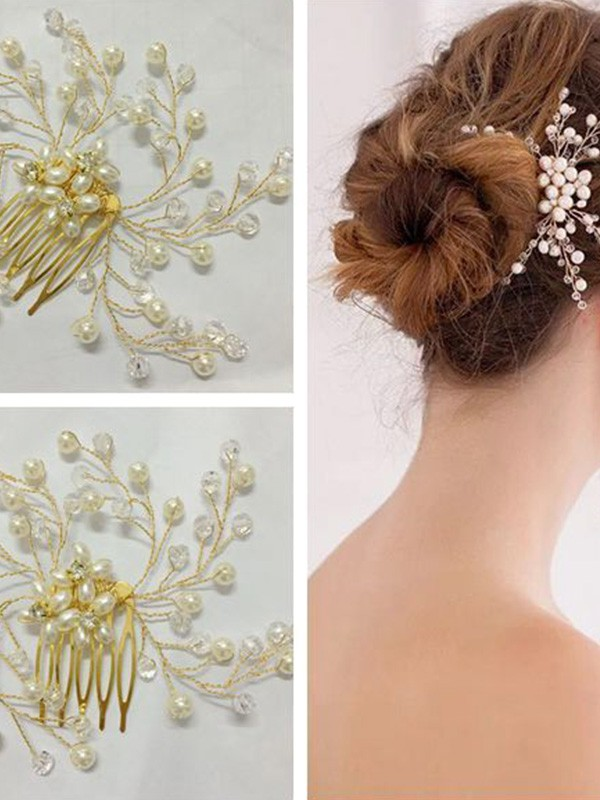 Nice Czech Pearl Headpiece