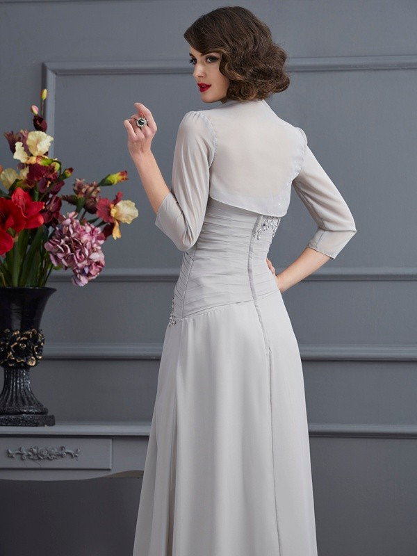 Chic Chiffon 3/4 Sleeves Special Occasion Wrap