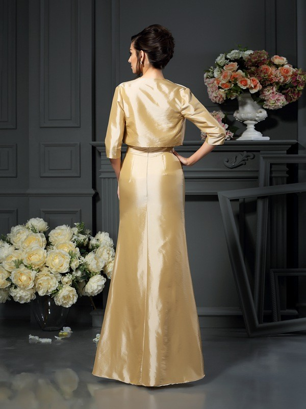Stylish 1/2 Sleeves Taffeta Special Occasion Wrap