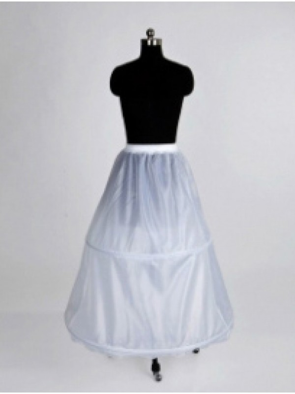New Nylon Floor-length Wedding Petticoat
