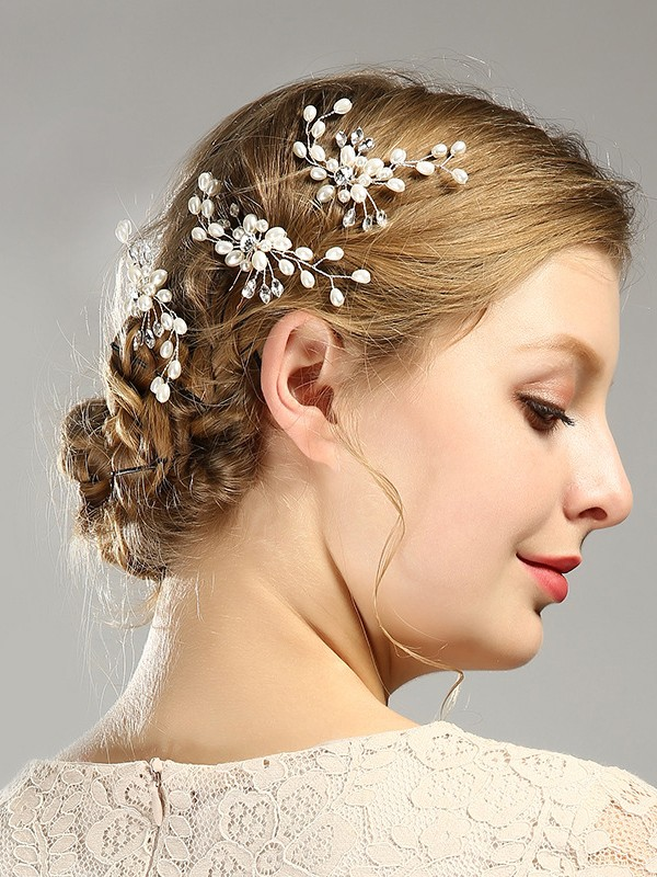 Fashion Imitation pearls Headpiece